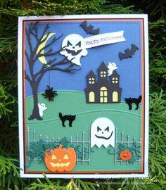 Kersten's Kreativkiste: Halloween Geister
