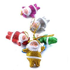 6pcslot Christmas Tree Ornaments Xmas Santa Claus Pendants For Party Festival Aug4 >>> For more information, visit image link.