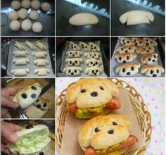 Cute and Yummy dog sandwiches