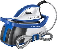 Buy Russell Hobbs 24440 Steam Power Steam Generator Iron at Argos. Thousands of products for same day delivery or fast store collection. Best Steam Iron, Steam Generator Iron, Russel Hobbs, Appliance Sale, Vertical Storage, Power Generator, Steam Cleaners, How To Make Light, Car Cleaning