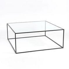 Table basse / contemporaine / en acier / en verre STRAND  Dare Studio