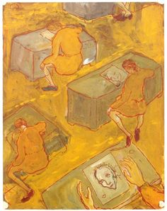 Charlotte Salomon, Life? or Theater?, 1941-1943, Gouache on paper
