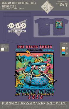 Phi Delta Theta Spring Rush Shirt | Fraternity Event | Greek Event #phideltatheta #phidelt Phi Delta Theta, Rush Shirts, Greek Life, Fraternity, Spring Break, Design, Winter Vacations