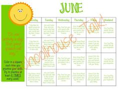 Schoolhouse Talk!: Summer Speech Homework Calendars. Two sets of {FREE} calendars for your students to practice their communication skills over the summer - one set for Articulation goals and one set for Language goals.
