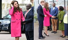 The Duke and Duchess of Cambridge visits Stephen Lawrence Centre