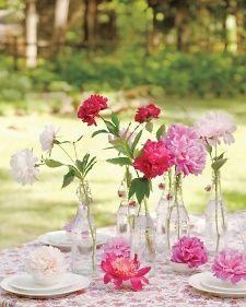 Easy Summer Flower Display
