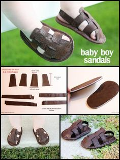55+ DIY Baby Shoes with Free Patterns and Tutorials - Page 4 of 6 - DIY & Crafts