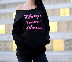 Disney Princess Sweatshirt. Disney by StrongGirlClothing on Etsy