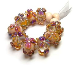 Sunny Honey by Beads By Laura, via Flickr