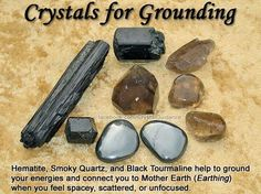 Root Chakra Crystals for grounding