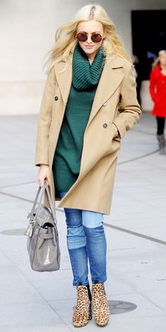 love that Fearne Cotton's sweater is from H&M - click for the rest of the details on her outfit!