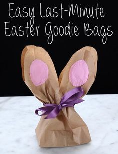 So cute and easy to make. Here's The Perfect Last-Minute Easter Gift You Can Make For Easter