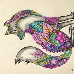 Johanna Basford | Picture by Cheryl TylerPRISMACOLOR Premiere pencils , Outlook, Saskatchewan, Canada | Colouring Gallery