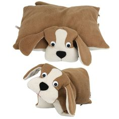 Sweet Dog Fleece Pillow at The Animal Rescue Site