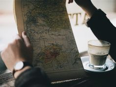 This is such an inspirational photo. That map just begs to to go everywhere