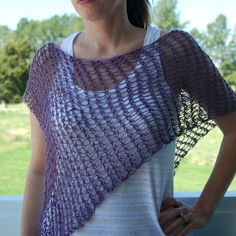 I made this poncho last year...or was it the year before last? I can't remember.      I posted it on Ravelry  a few months ago and somehow f...