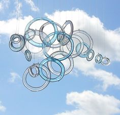 floating like clouds