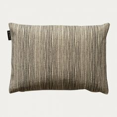 The contemporary cushion cover KARLAPLAN has black, beautiful lined embroidery on a coarse cotton fabric in creamy beige. From the collection Contemporary Cushion Covers, Cotton Fabric, Cushions, Beige, Throw Pillows, Aw17, Stockholm, Autumn, Embroidery