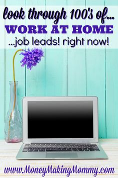 Your work at home career search just got real. New job leads posted every day! MoneyMakingMommy.com