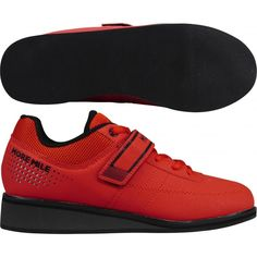 d537c25db8a3 More Mile Super Lift 4 Ladies Womens CrossFit / Weightlifting Shoes - Red