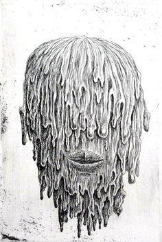 100 Faces by Tomiyuki Sakuta: Juxtapoz-TokiyumiSakuta020.jpg