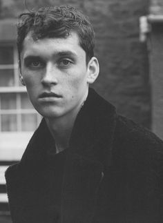 """Anders Hayward at Unsigned MGMT in London, in """"East Lothian"""" by Karim Sadli for the Holiday Magazine's Fall Winter 2014-2015"""