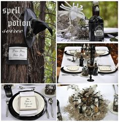 Awesome theme for a Halloween party - Spells & Potions.