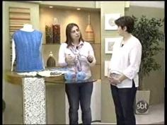 blusa de trico com Camila Fashion por Cristina Amaduro