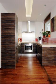 Interiér bytu v novostavbě. Kuchyňský kout / Geddes-Kaňka Interiors