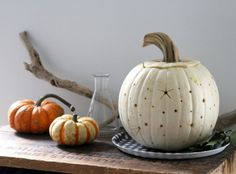 starry sky pumpkin // erin boyle for gardenista