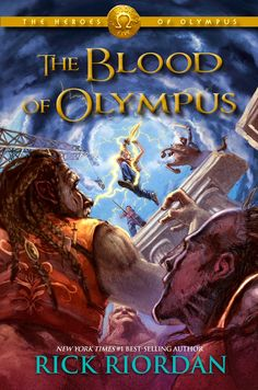 The Blood of Olympus Cover is finally here!