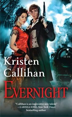 Kristen Callihan never disappoints! Evernight is no exception. #steampunkromance #bookreview