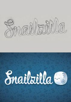 Custom Lettering Logo Design