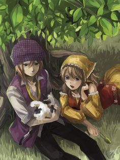 Harvest Moon: Tale of Two Towns | Cam and Lillian