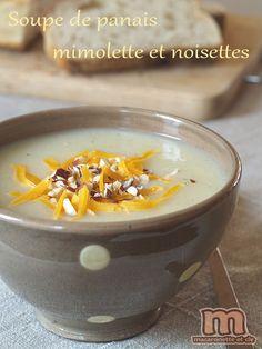 Soupe de panais - mimolette et noisettes