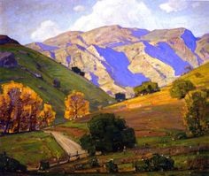 William Wendt (1865-1946) American