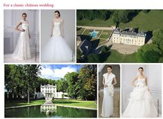 What dress for your chateau wedding in France