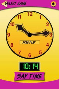telling time app