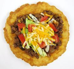 Indian Frybread and Indian Tacos