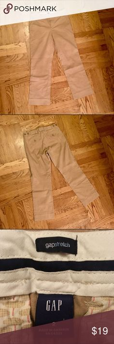 """Like new! GAP Stretch Tan Dress Pants 
