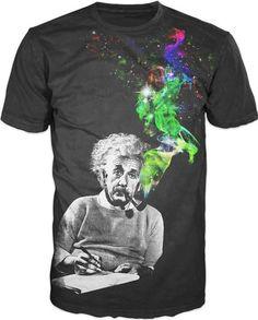 Einstein- Smoking People T-Shirt