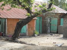 Middle class Haitian house. info@aservingheart.org