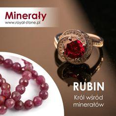 Rubin – król kamieni szlachetnychEwa 25 czerwca 2019 Aktualności, Minerały kamień szlachetny, korund, ratnaraj, różowy kamień, ruber, rubin, rubyTo niekwestionowany król obok szafiru i szmaragdu – jest najdroższym kolorowym kamieniem szlachetnym na świecie, osiągającym najwyższe ceny na rynku jubilerskim, a ze względu na jedyną w swoim rodzaju barwę – najbardziej pożądanym i jednym z najbardziej cenionych od wielu wieków. Przed Państwem – Jego Wysokość Rubin!
