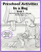 Preschool activities in a bag