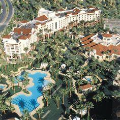 http://www.vegas-venues.com - JW Marriott Resort & Spa Las Vegas Aerial Overview