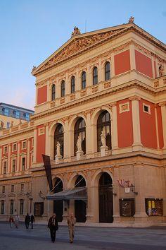 Music Hall, Vienna, Austria, right next to #imperialvienna