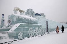Amazing Snow and Ice Sculptures from China
