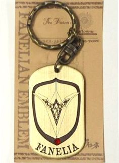 // Escaflowne Version: TV // Type of item: Keychain // Company: Movic // Release: ?? // Other notes: N/A //