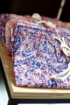 """Paisley Trunks for Well-Dressed Hunks""  Confident men wear paisley. A  classic seasonal piece. A must for the Hamptons!"