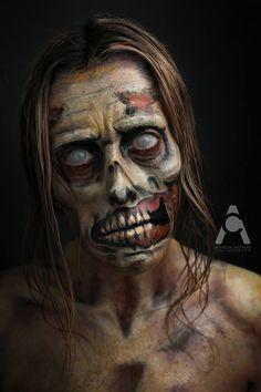 One Woman, 31 Days of Halloween Makeup